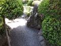 滝内家の庭園